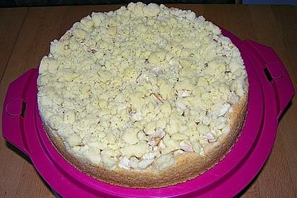 Apfel - Streuselkuchen mit Pudding 31
