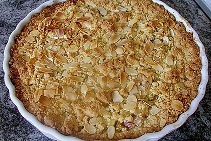 Apfel - Streuselkuchen mit Pudding 12