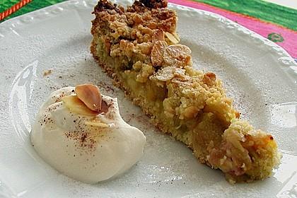 Apfel - Streuselkuchen mit Pudding 23