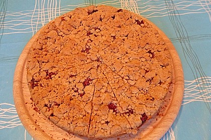 Apfel - Streuselkuchen mit Pudding 58