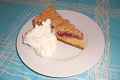 Apfel - Streuselkuchen mit Pudding 16