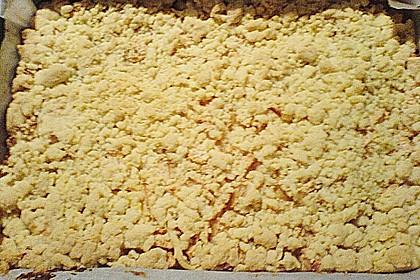 Apfel - Streuselkuchen mit Pudding 63