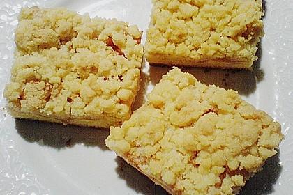 Apfel - Streuselkuchen mit Pudding 56