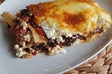 Spinat - Feta - Lasagne