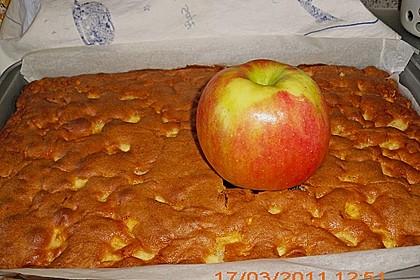 Apfelkuchen Großmutters Art 60