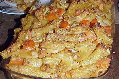 Auflauf mit Oliven, Tomaten, Pesto und Feta-Käse 7
