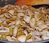 Bohnen - Champignongemüse (Bild)
