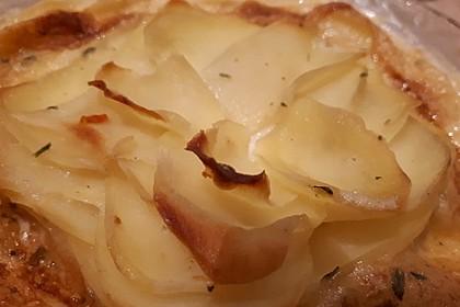 Kartoffelgratin schnell und einfach 3