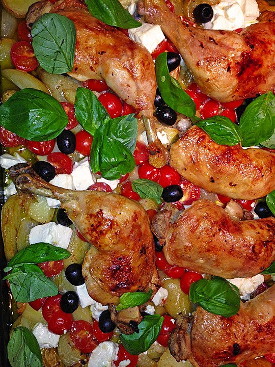 Griechisch zitronenhuhn rezepte for Griechisch kochen