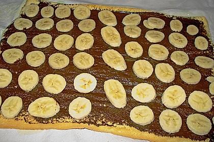 Biskuitrolle mit Nutella - Cappuccinosahne 15