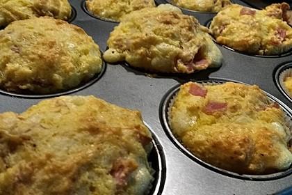 Herzhafte Schinken-Käse-Muffins 33