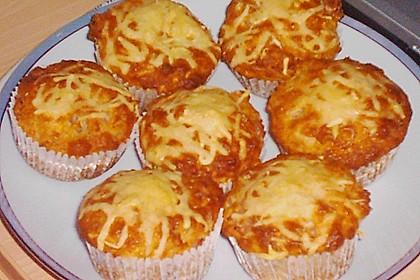 Herzhafte Schinken-Käse-Muffins 43