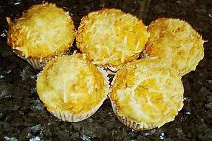 Herzhafte Schinken-Käse-Muffins 35