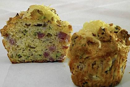 Herzhafte Schinken-Käse-Muffins 6