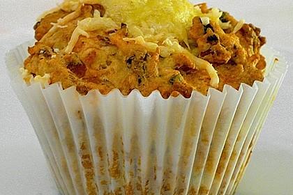 Herzhafte Schinken-Käse-Muffins 4