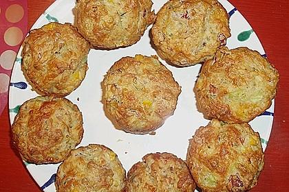 Herzhafte Schinken-Käse-Muffins 19