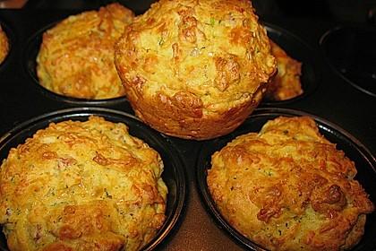Herzhafte Schinken-Käse-Muffins 8