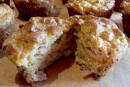 Herzhafte Schinken-Käse-Muffins 56
