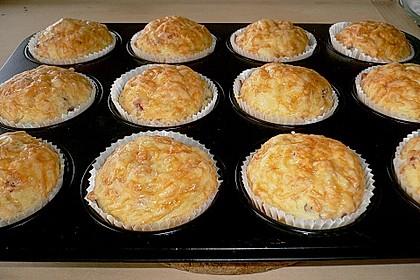 Herzhafte Schinken-Käse-Muffins 21