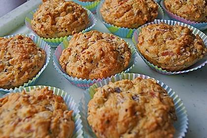Herzhafte Schinken-Käse-Muffins 12