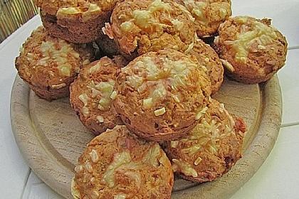 Herzhafte Schinken-Käse-Muffins 23