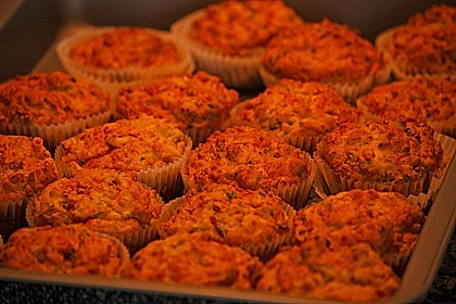 Herzhafte Schinken-Käse-Muffins 11