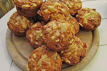 Herzhafte Schinken-Käse-Muffins 31