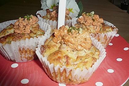 Herzhafte Schinken-Käse-Muffins 59