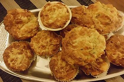 Herzhafte Schinken-Käse-Muffins 61