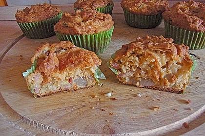 Herzhafte Schinken-Käse-Muffins 49