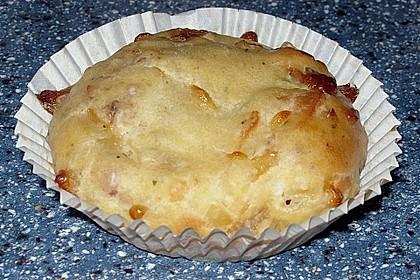 Herzhafte Schinken-Käse-Muffins 40