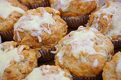 Herzhafte Schinken-Käse-Muffins 9