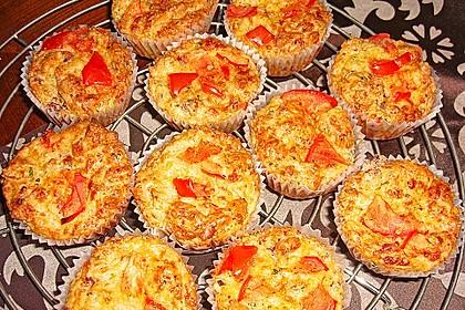 Herzhafte Schinken-Käse-Muffins 16