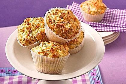 Herzhafte Schinken-Käse-Muffins 3
