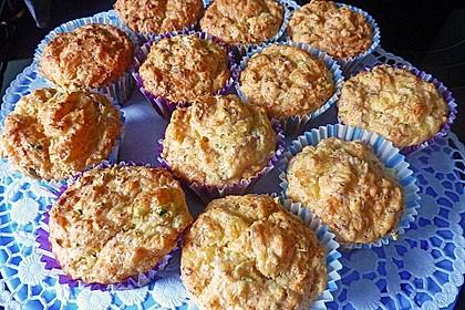 Herzhafte Schinken-Käse-Muffins 30