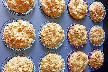 Herzhafte Schinken-Käse-Muffins 32