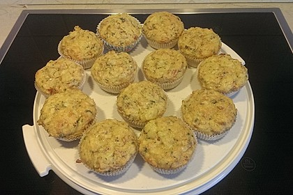 Herzhafte Schinken-Käse-Muffins 27