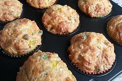 Herzhafte Schinken-Käse-Muffins 46