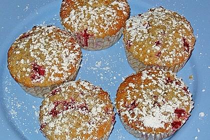 Haferflocken - Johannisbeer - Muffins 15