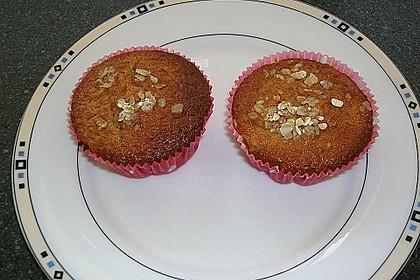 Haferflocken - Johannisbeer - Muffins 14