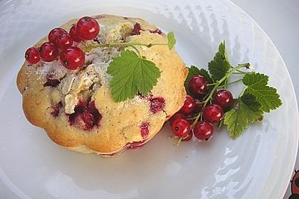 Haferflocken - Johannisbeer - Muffins 4