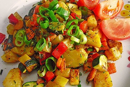 Bratkartoffeln vegetarisch