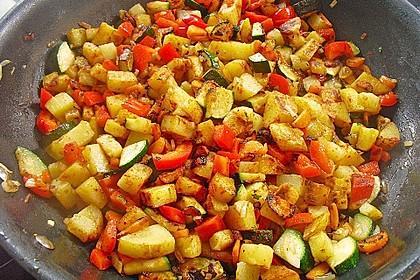 Bratkartoffeln vegetarisch 4