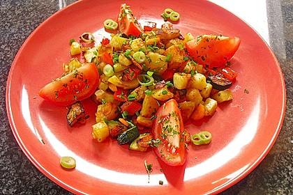 Bratkartoffeln vegetarisch 1