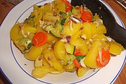Bratkartoffeln vegetarisch 3