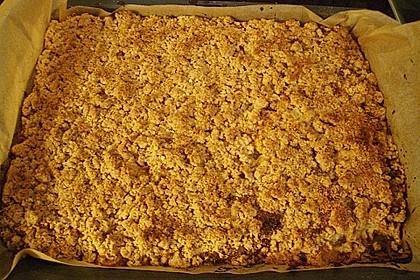 Apfel - Streuselkuchen vom Blech 34