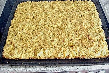 Apfel - Streuselkuchen vom Blech 43