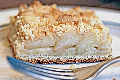 Apfel - Streuselkuchen vom Blech 35