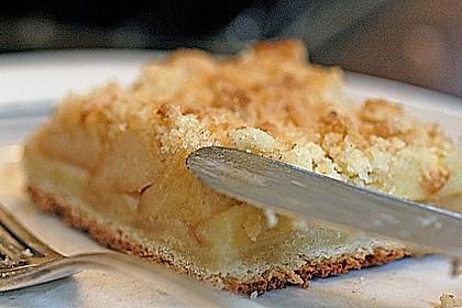 Apfel - Streuselkuchen vom Blech 24