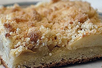 Apfel - Streuselkuchen vom Blech 6